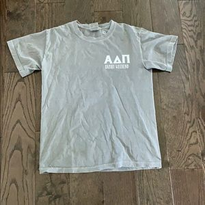 Alpha Delta Pi comfort colors T-shirt